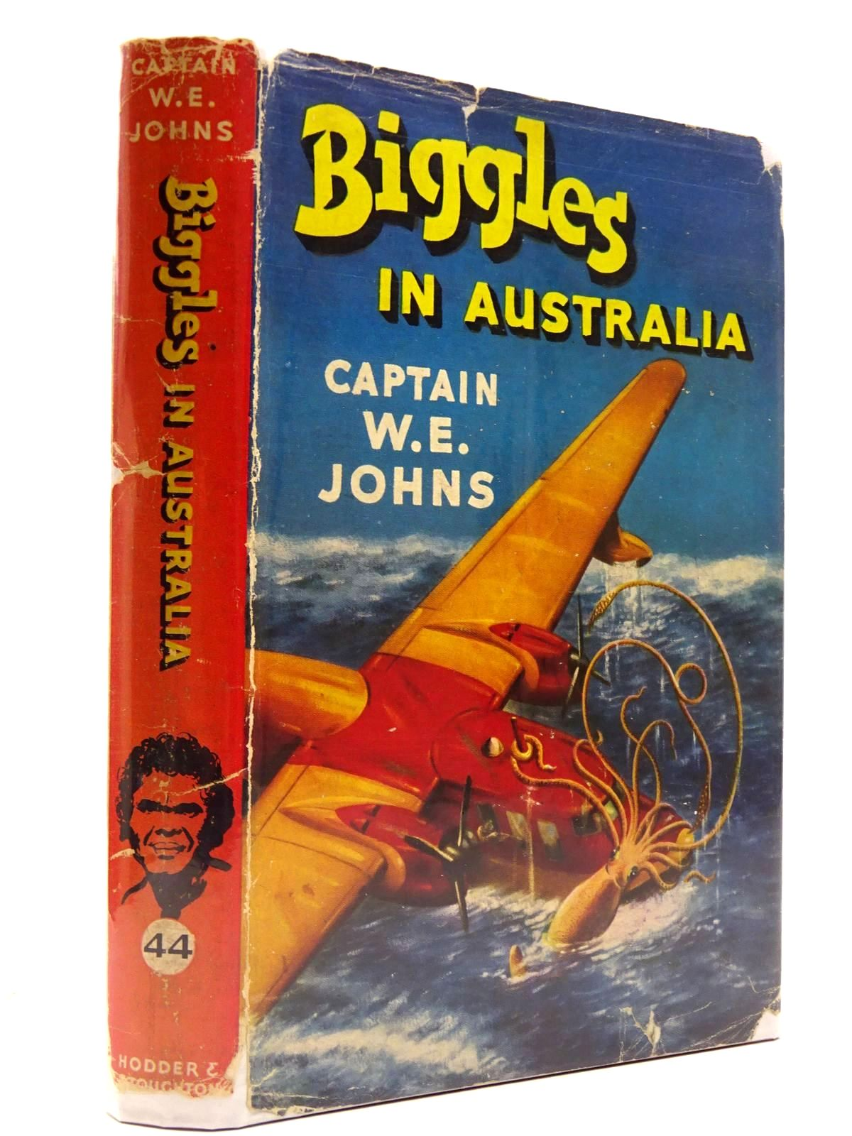Photo of BIGGLES IN AUSTRALIA written by Johns, W.E. illustrated by Stead,  published by Hodder & Stoughton (STOCK CODE: 2130758)  for sale by Stella & Rose's Books