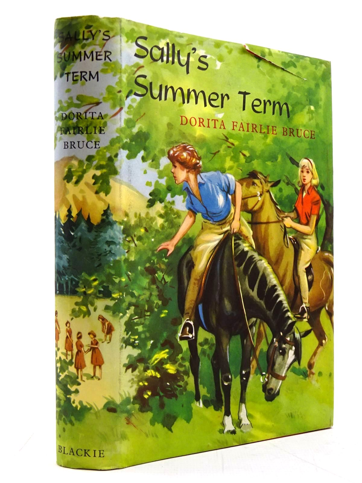 Photo of SALLY'S SUMMER TERM written by Bruce, Dorita Fairlie illustrated by Thompson, Joan published by Blackie (STOCK CODE: 2130760)  for sale by Stella & Rose's Books