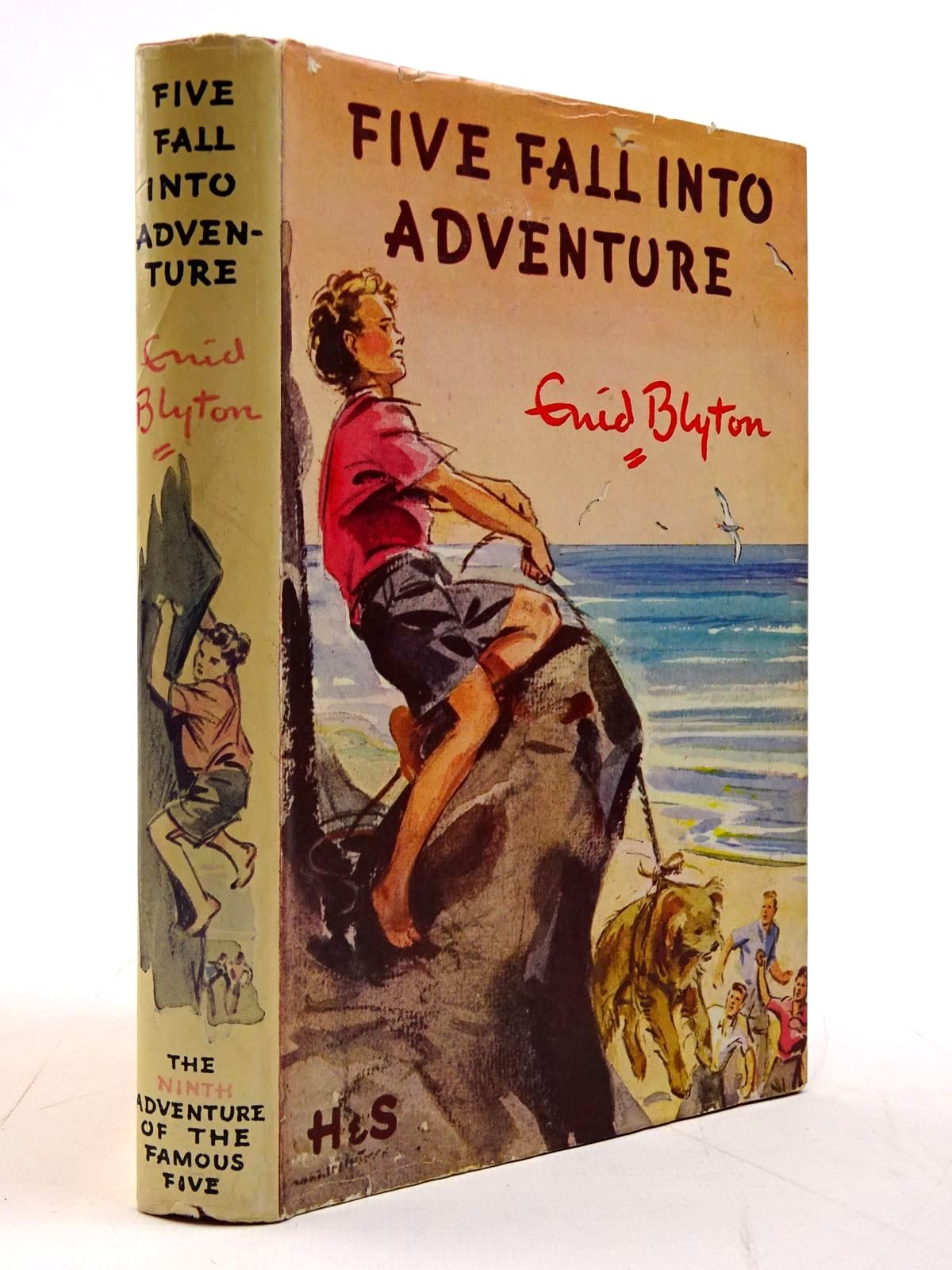 Photo of FIVE FALL INTO ADVENTURE written by Blyton, Enid illustrated by Soper, Eileen published by Hodder & Stoughton (STOCK CODE: 2130771)  for sale by Stella & Rose's Books
