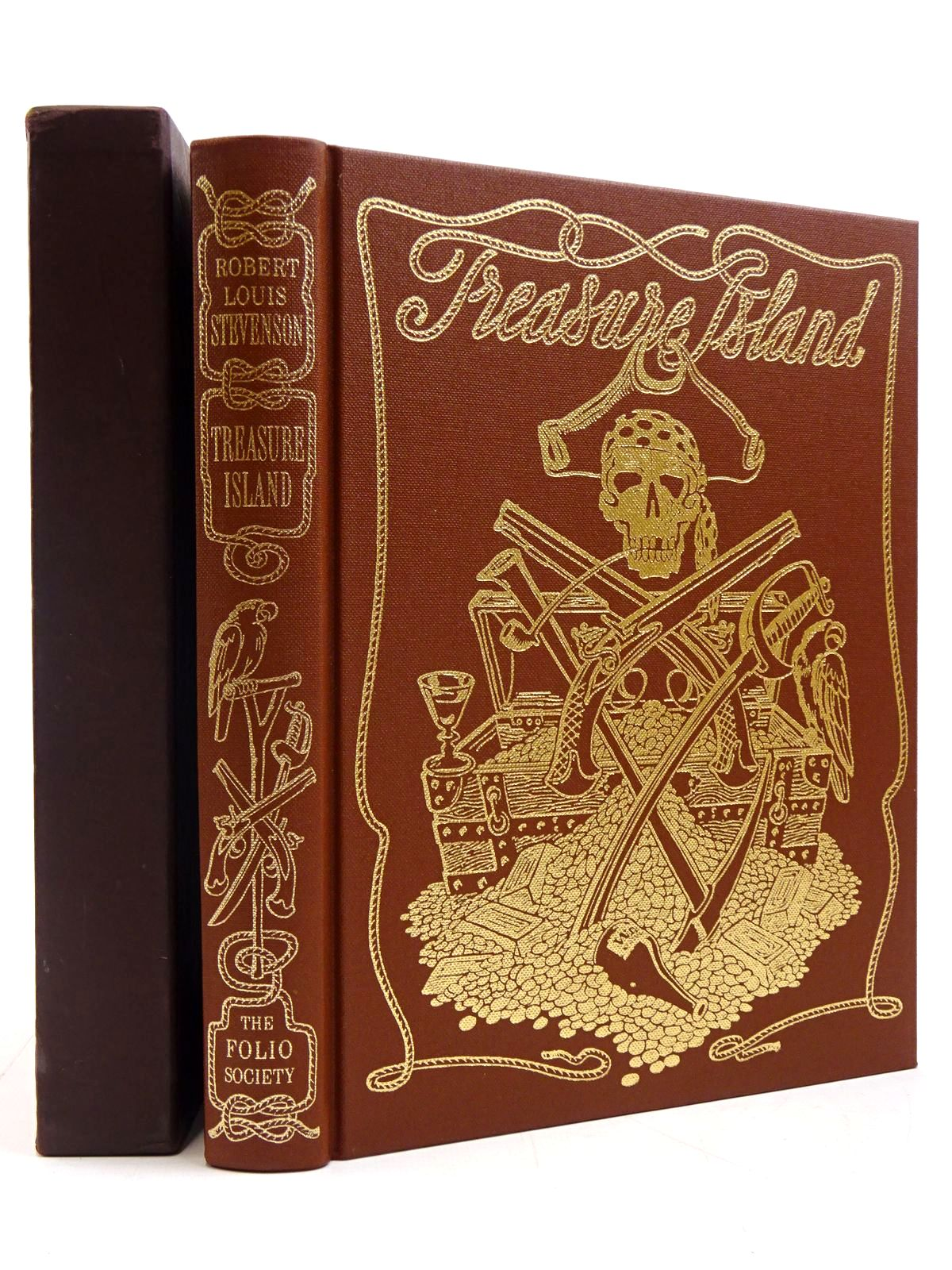 Photo of TREASURE ISLAND written by Stevenson, Robert Louis illustrated by Bannister, Philip published by Folio Society (STOCK CODE: 2130780)  for sale by Stella & Rose's Books