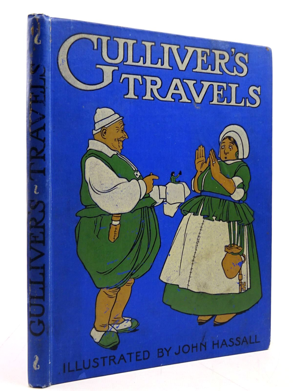 Photo of GULLIVER'S TRAVELS RETOLD FOR LITTLE FOLK written by Swift, Jonathan<br />Herbertson, Agnes Grozier illustrated by Hassall, John published by Blackie & Son Ltd. (STOCK CODE: 2130788)  for sale by Stella & Rose's Books