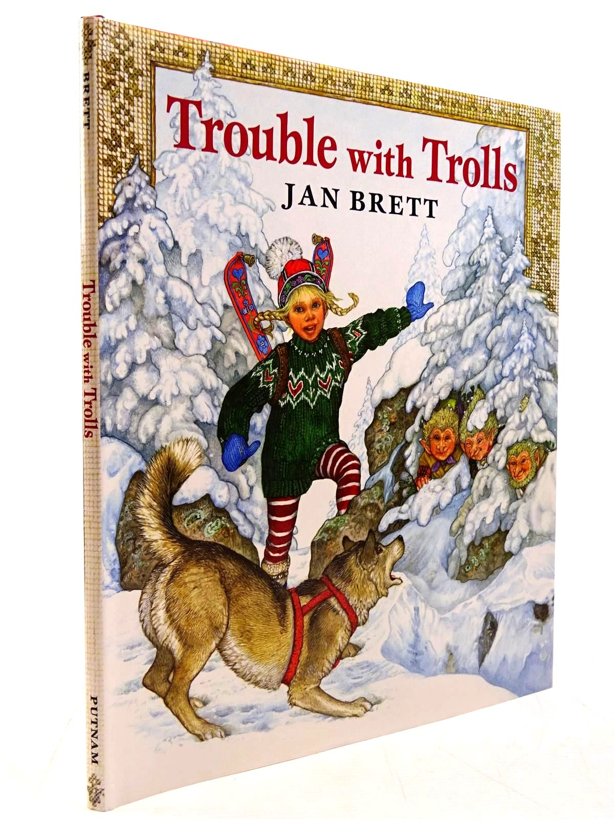 Photo of TROUBLE WITH TROLLS written by Brett, Jan illustrated by Brett, Jan published by G.P. Putnam's Sons (STOCK CODE: 2130791)  for sale by Stella & Rose's Books