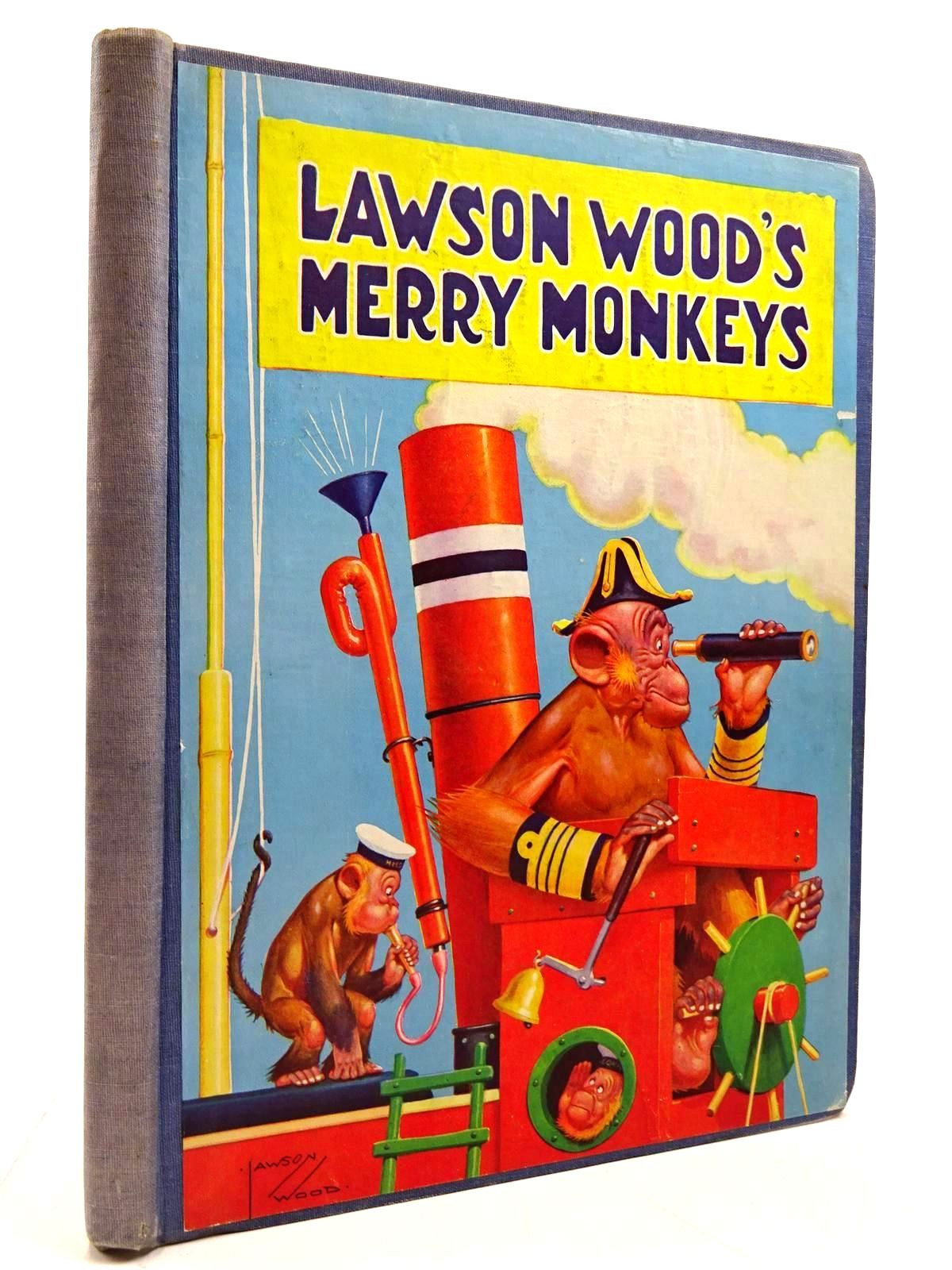 Photo of LAWSON WOOD'S MERRY MONKEYS written by Wood, Lawson illustrated by Wood, Lawson published by Birn Brothers Ltd. (STOCK CODE: 2130792)  for sale by Stella & Rose's Books