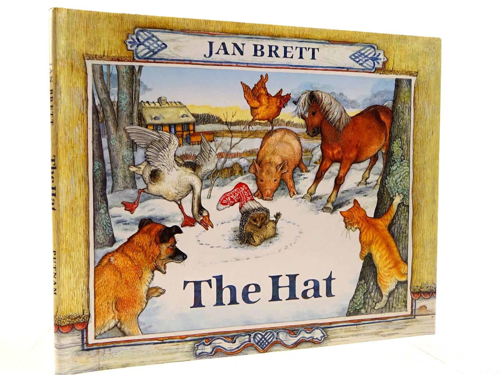 Photo of THE HAT written by Brett, Jan illustrated by Brett, Jan published by G.P. Putnam's Sons (STOCK CODE: 2130797)  for sale by Stella & Rose's Books