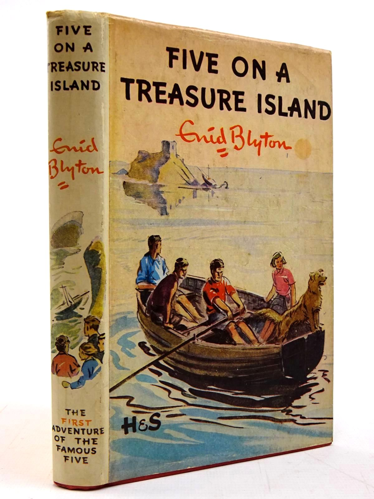 Photo of FIVE ON A TREASURE ISLAND written by Blyton, Enid illustrated by Soper, Eileen published by Brockhampton Press (STOCK CODE: 2130818)  for sale by Stella & Rose's Books