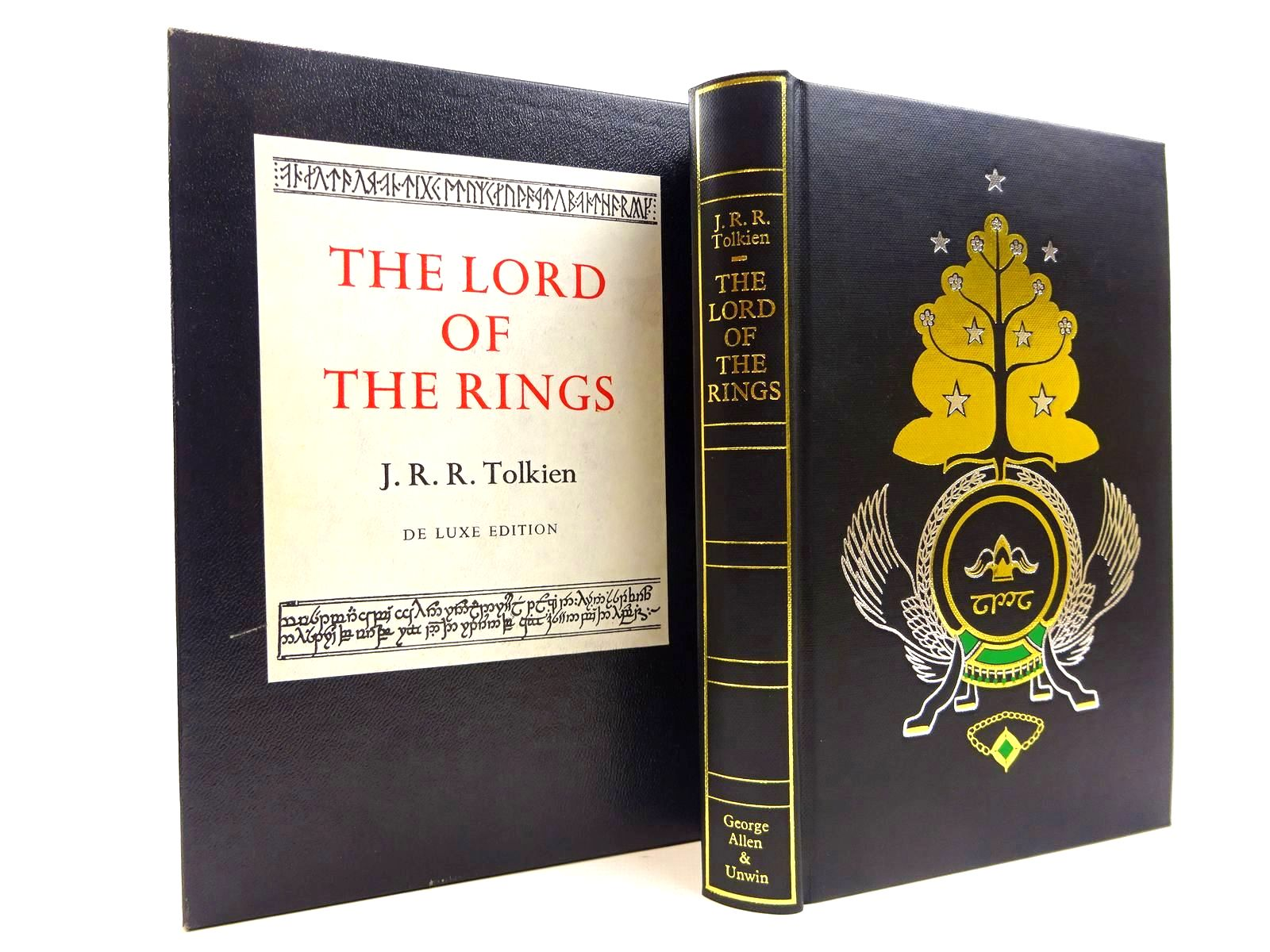 Photo of THE LORD OF THE RINGS written by Tolkien, J.R.R. published by George Allen & Unwin Ltd. (STOCK CODE: 2130839)  for sale by Stella & Rose's Books