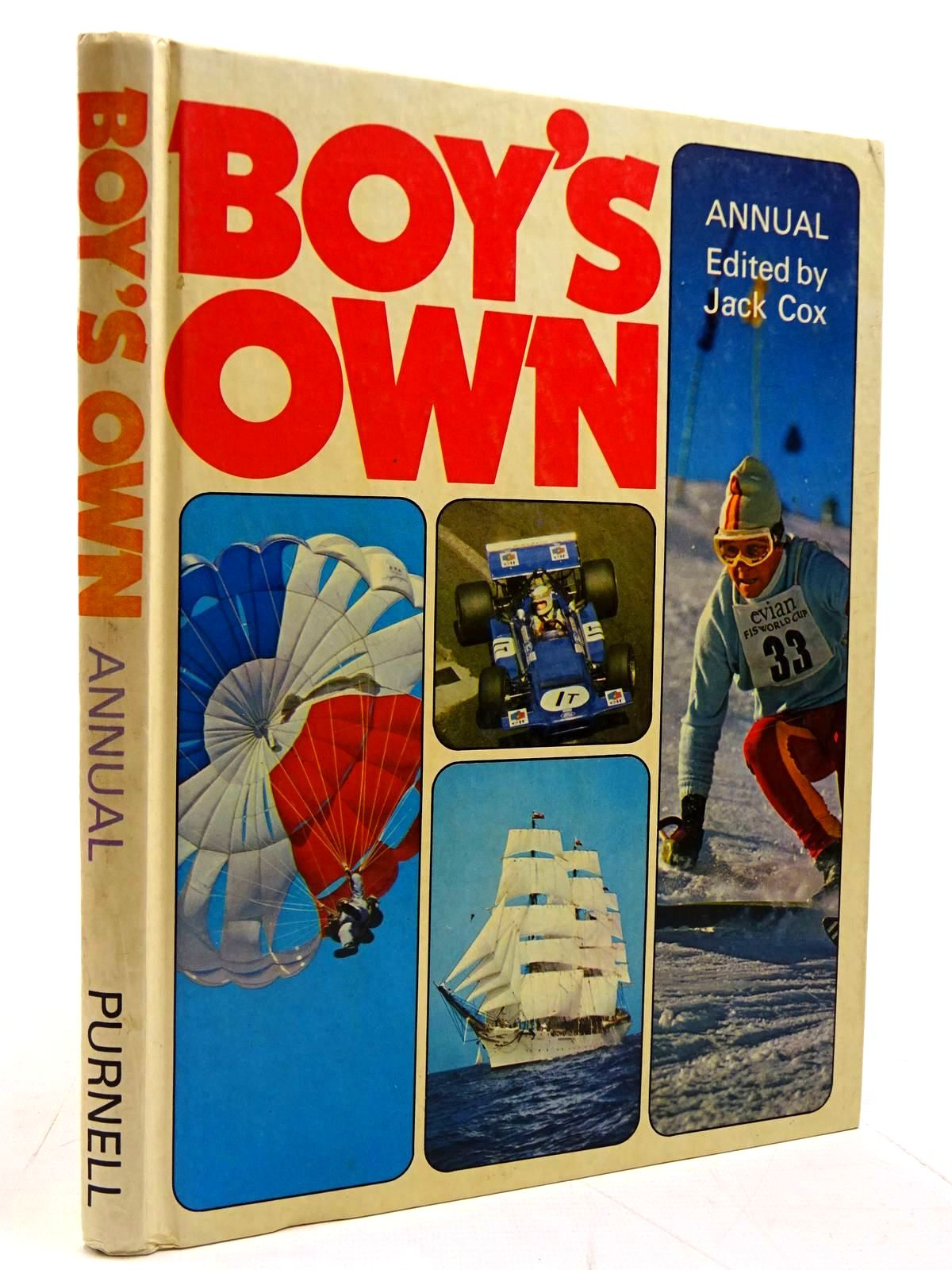 Photo of BOY'S OWN ANNUAL '75 written by Cox, Jack published by Purnell (STOCK CODE: 2130864)  for sale by Stella & Rose's Books