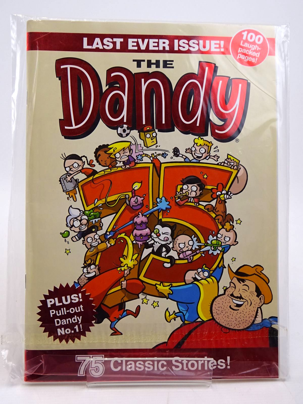 Photo of THE DANDY COMIC LAST EVER ISSUE! published by D.C. Thomson & Co Ltd. (STOCK CODE: 2130881)  for sale by Stella & Rose's Books