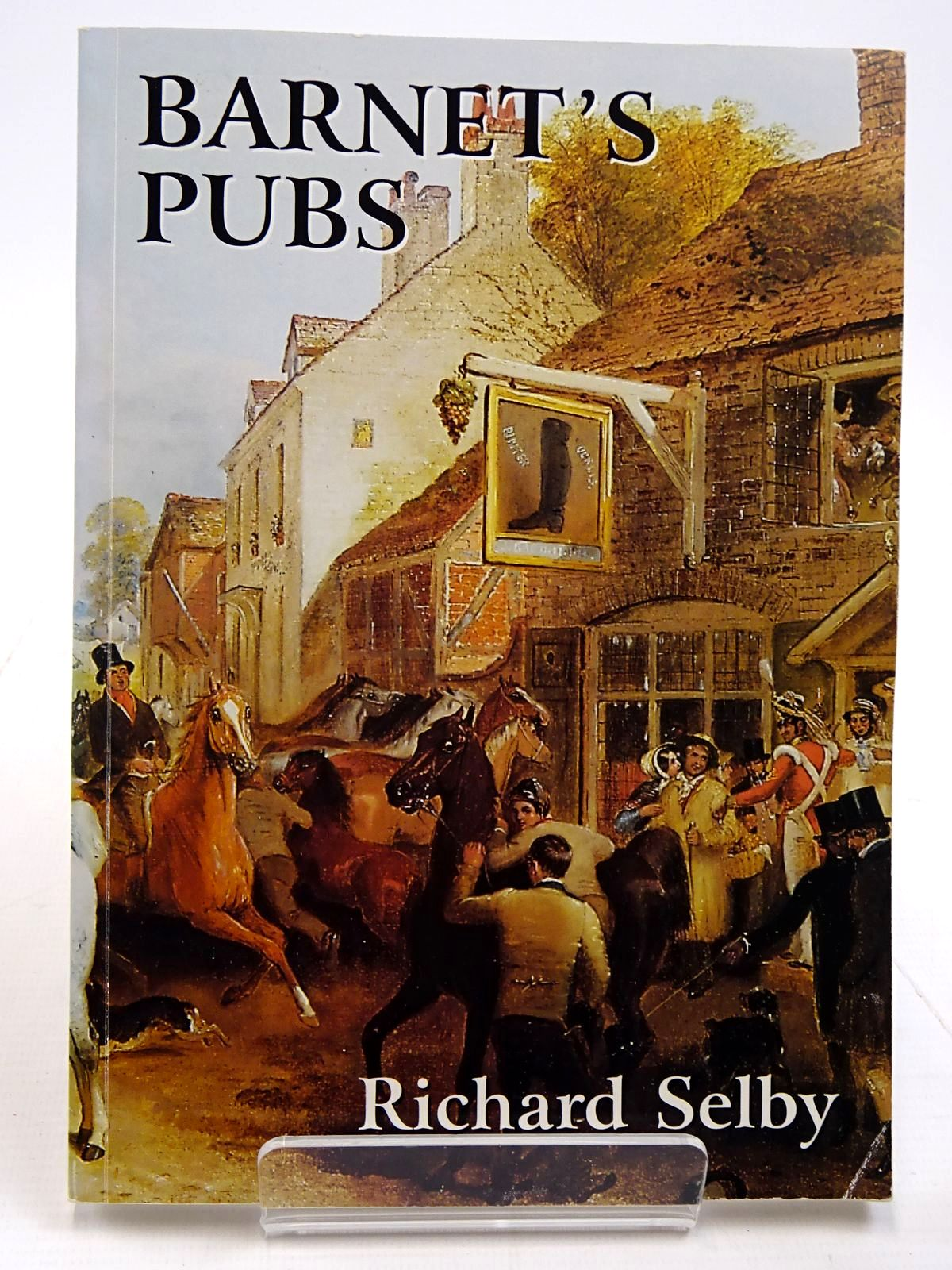 Photo of BARNET'S PUBS written by Selby, Richard (STOCK CODE: 2130920)  for sale by Stella & Rose's Books