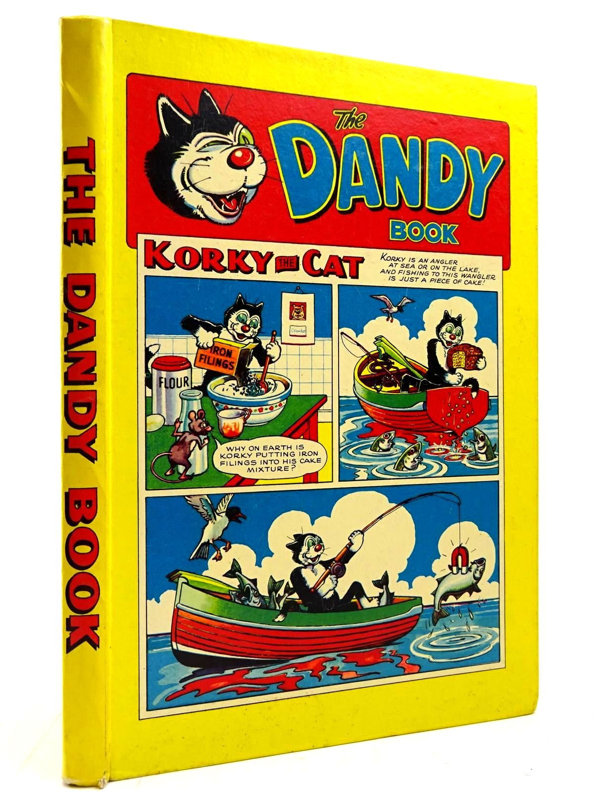 Photo of THE DANDY BOOK 1958 published by D.C. Thomson & Co Ltd. (STOCK CODE: 2130940)  for sale by Stella & Rose's Books