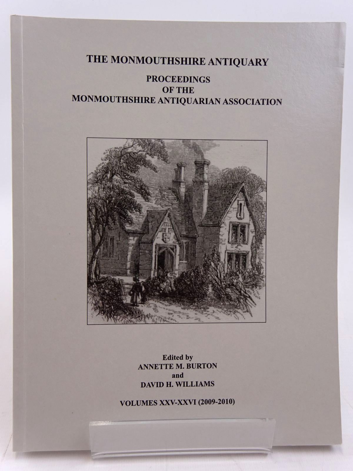 Photo of THE MONMOUTHSHIRE ANTIQUARY VOLUME XXV-XXVI written by Burton, Annette M.<br />Williams, David H. published by Monmouthshire Antiquarian Association (STOCK CODE: 2130955)  for sale by Stella & Rose's Books