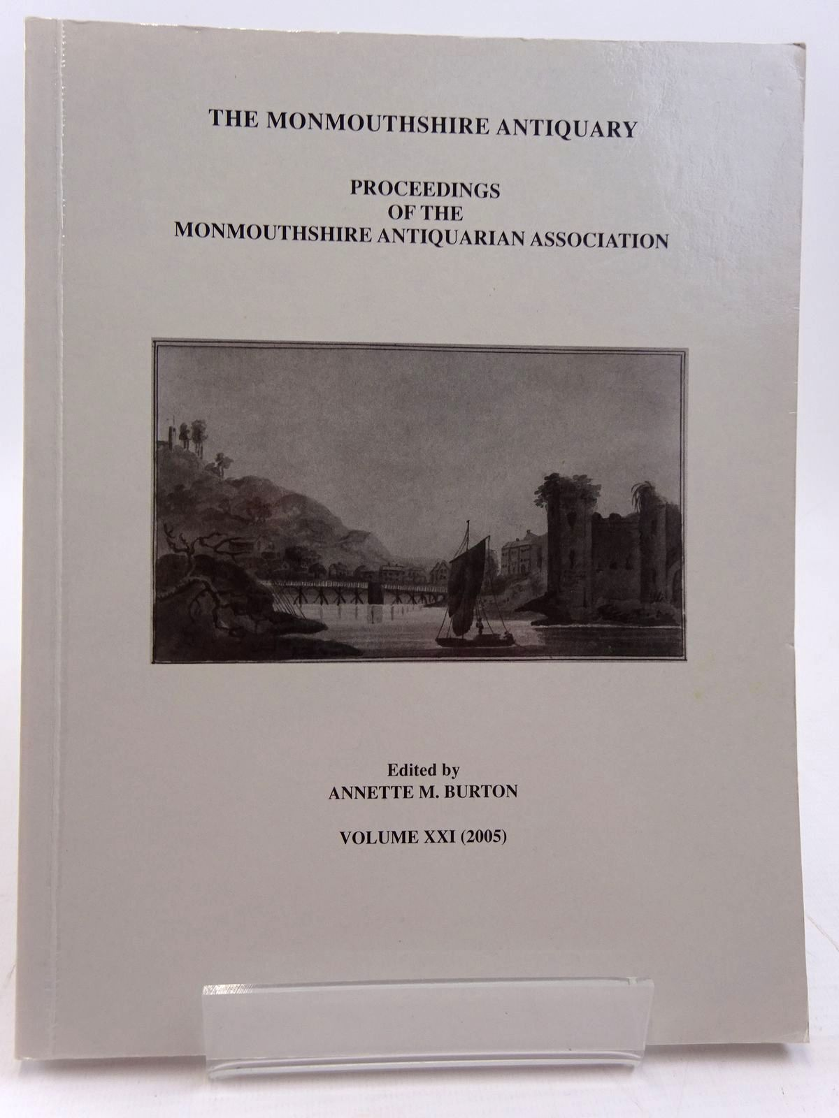 Photo of THE MONMOUTHSHIRE ANTIQUARY VOLUME XXI written by Burton, Annette M. published by Monmouthshire Antiquarian Association (STOCK CODE: 2130967)  for sale by Stella & Rose's Books