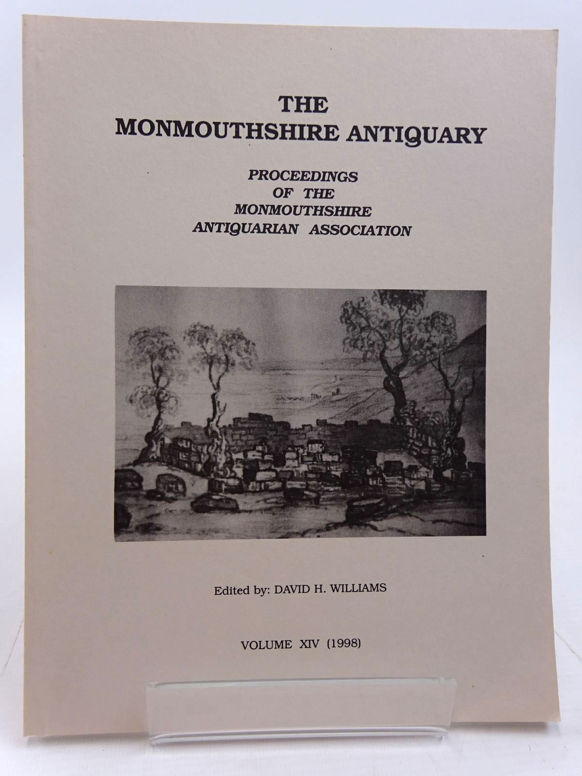 Photo of THE MONMOUTHSHIRE ANTIQUARY VOLUME XIV written by Williams, David H. published by Monmouthshire Antiquarian Association (STOCK CODE: 2130973)  for sale by Stella & Rose's Books