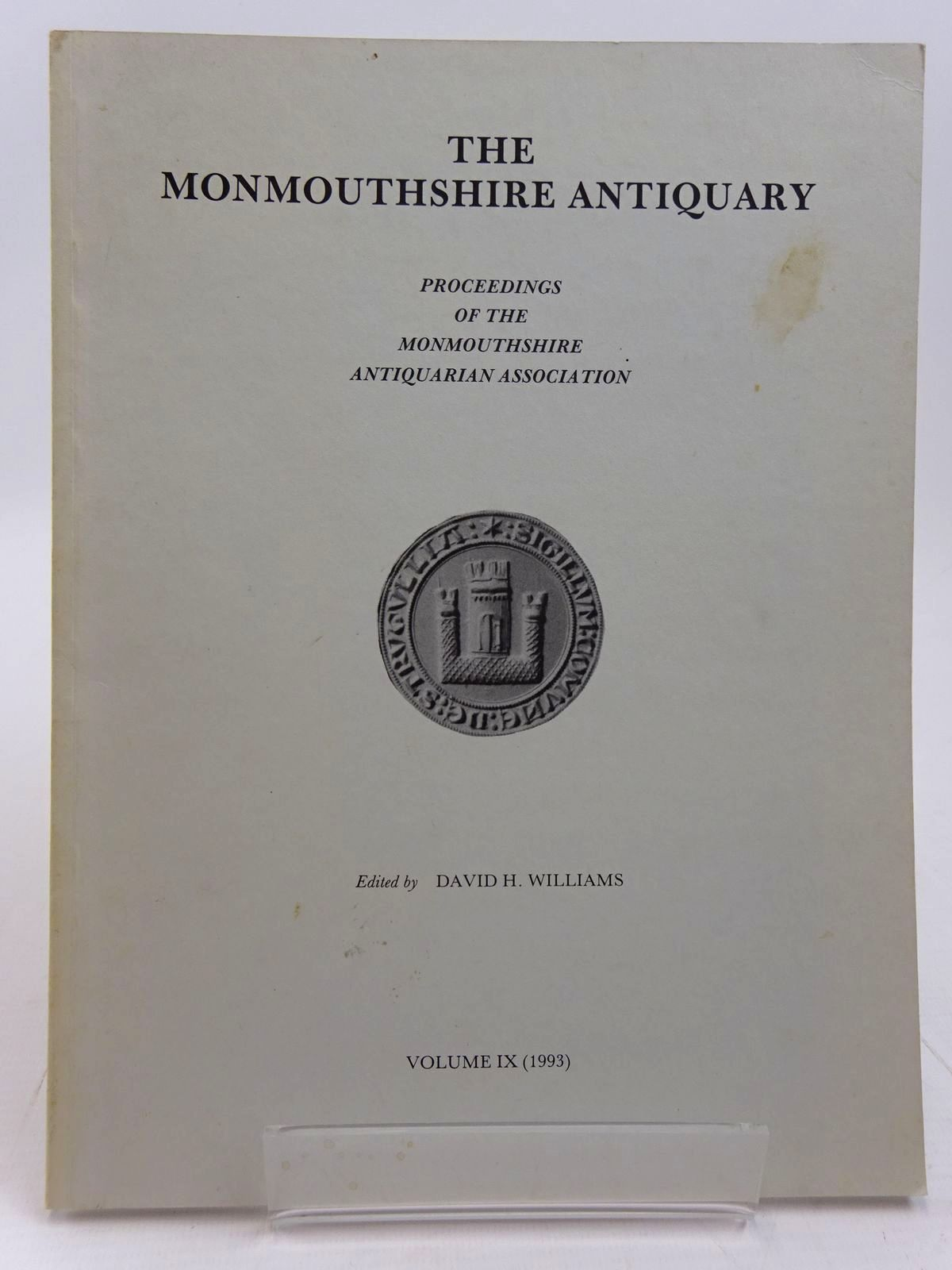 Photo of THE MONMOUTHSHIRE ANTIQUARY VOLUME IX written by Williams, David H. published by Monmouthshire Antiquarian Association (STOCK CODE: 2130975)  for sale by Stella & Rose's Books