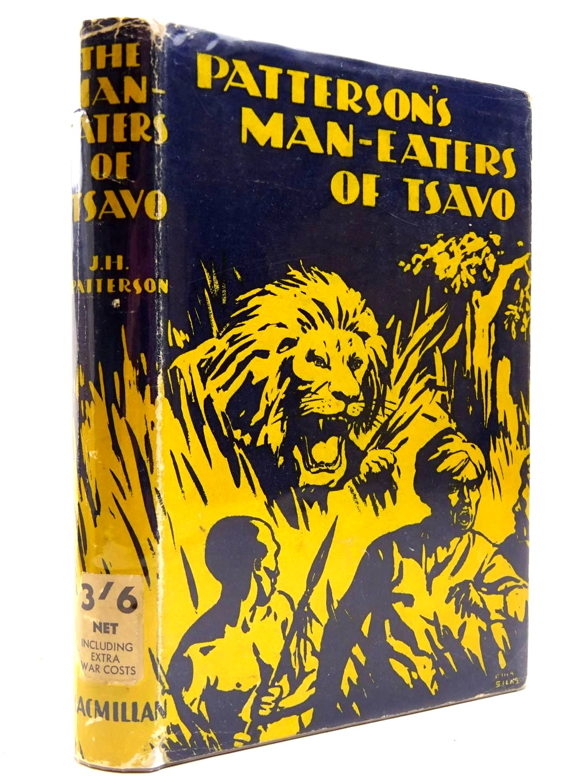Photo of THE MAN-EATERS OF TSAVO written by Patterson, J.H. published by Macmillan & Co. Ltd. (STOCK CODE: 2131020)  for sale by Stella & Rose's Books
