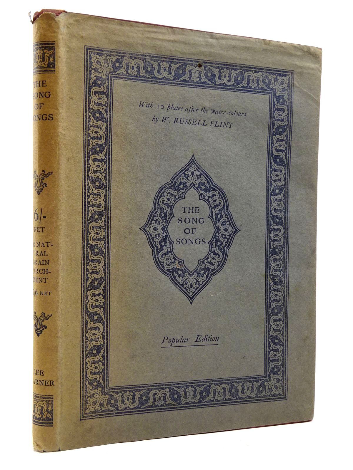 Photo of THE SONG OF SONGS WHICH IS SOLOMON'S illustrated by Flint, William Russell published by The Medici Society (STOCK CODE: 2131038)  for sale by Stella & Rose's Books