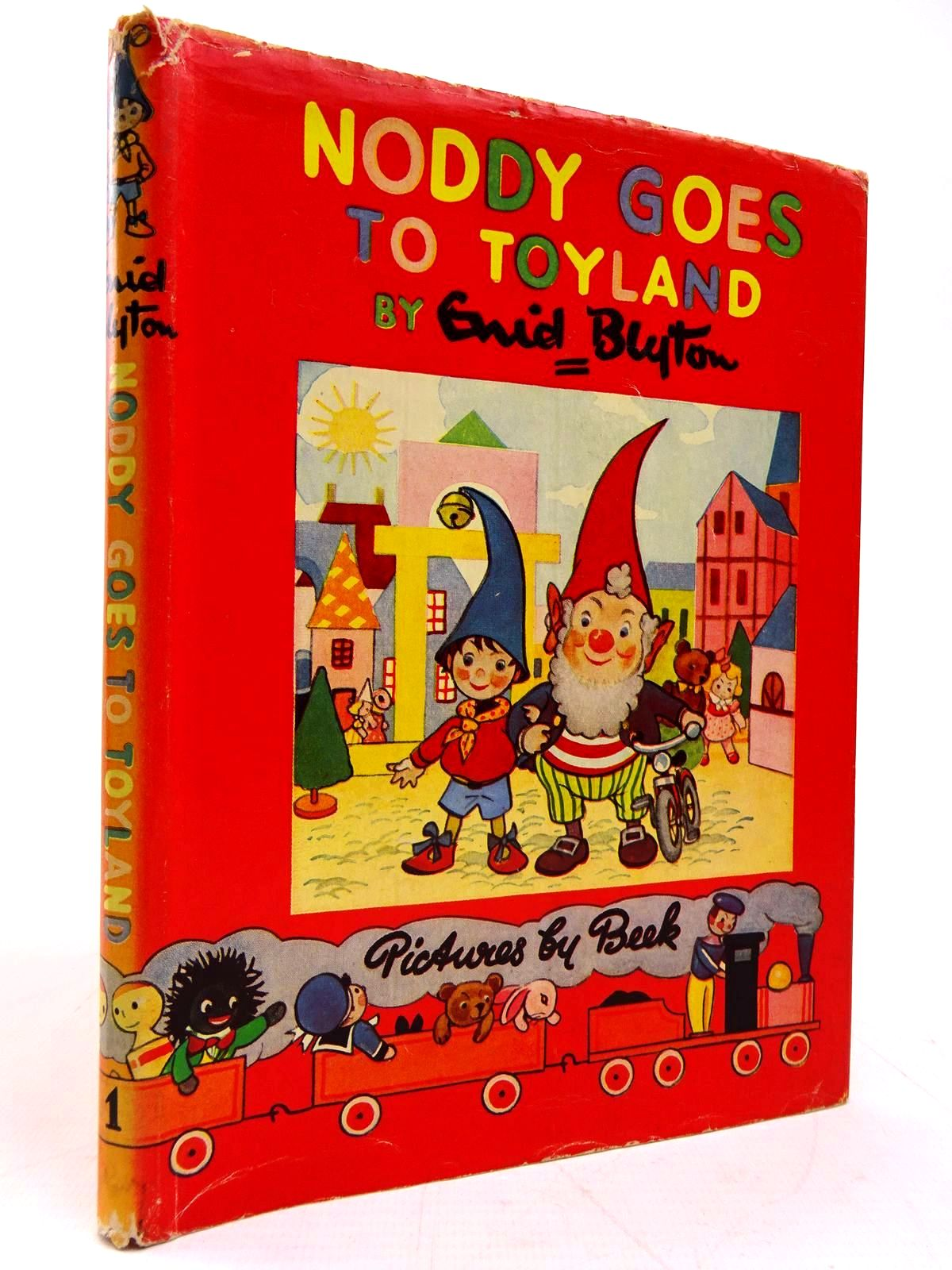 Photo of NODDY GOES TO TOYLAND written by Blyton, Enid illustrated by Beek,  published by Sampson Low, Marston & Co. Ltd. (STOCK CODE: 2131059)  for sale by Stella & Rose's Books