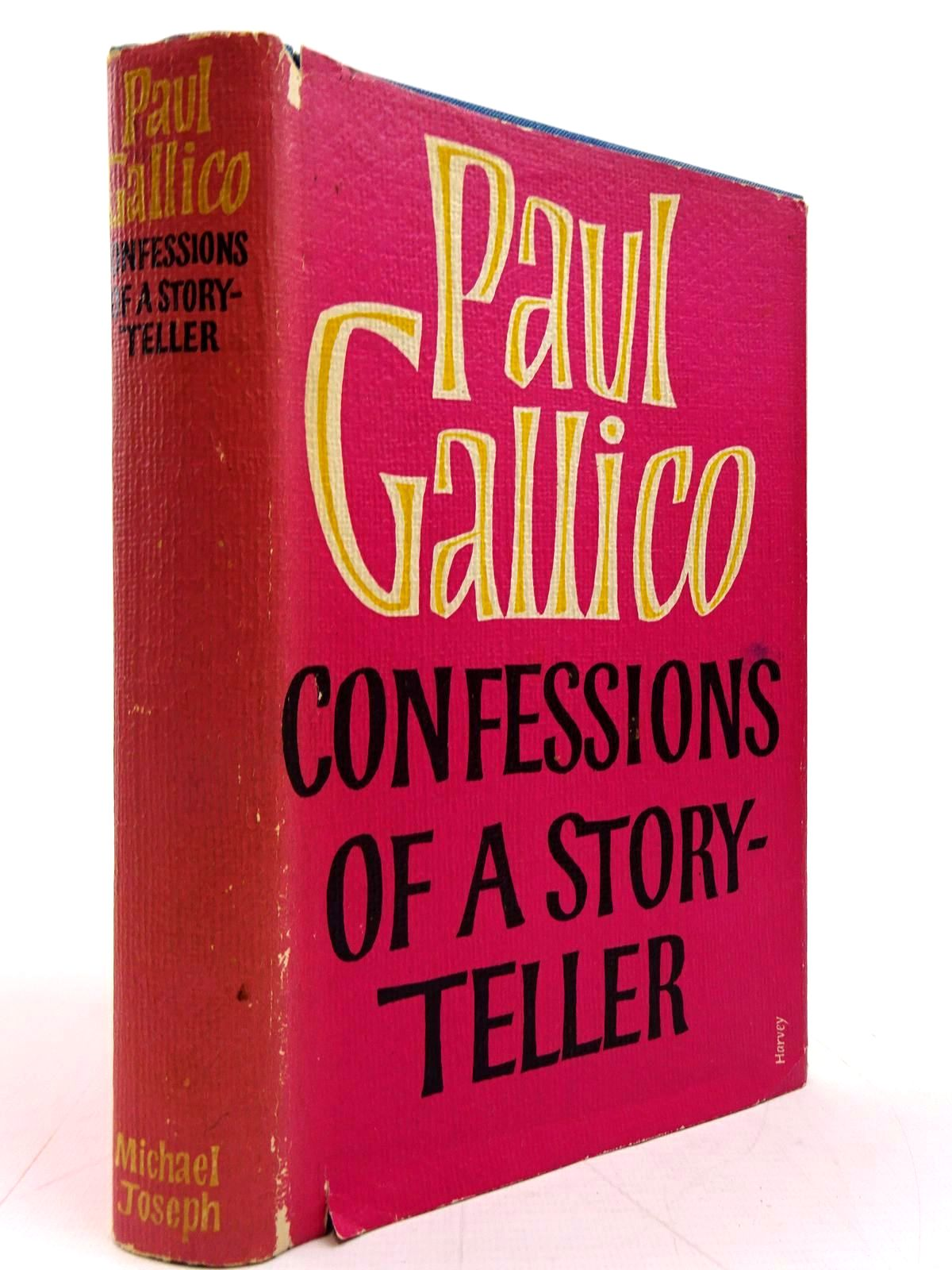 Photo of CONFESSIONS OF A STORY-TELLER written by Gallico, Paul published by Michael Joseph (STOCK CODE: 2131062)  for sale by Stella & Rose's Books