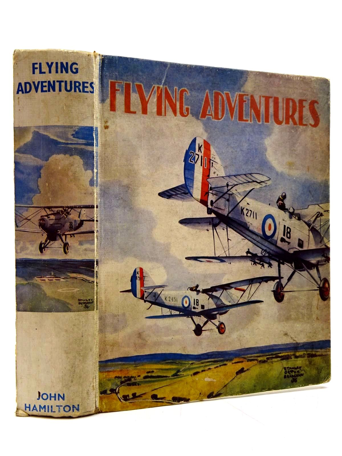 Photo of FLYING ADVENTURES written by Johns, W.E.<br />Rochester, George E.<br />et al,  illustrated by Leigh, Howard<br />Bradshaw, Stanley Orton<br />et al.,  published by John Hamilton (STOCK CODE: 2131067)  for sale by Stella & Rose's Books