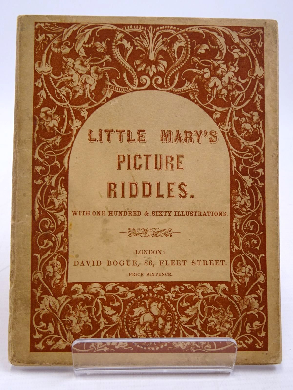 Photo of LITTLE MARY'S PICTURE RIDDLES published by David Bogue (STOCK CODE: 2131120)  for sale by Stella & Rose's Books