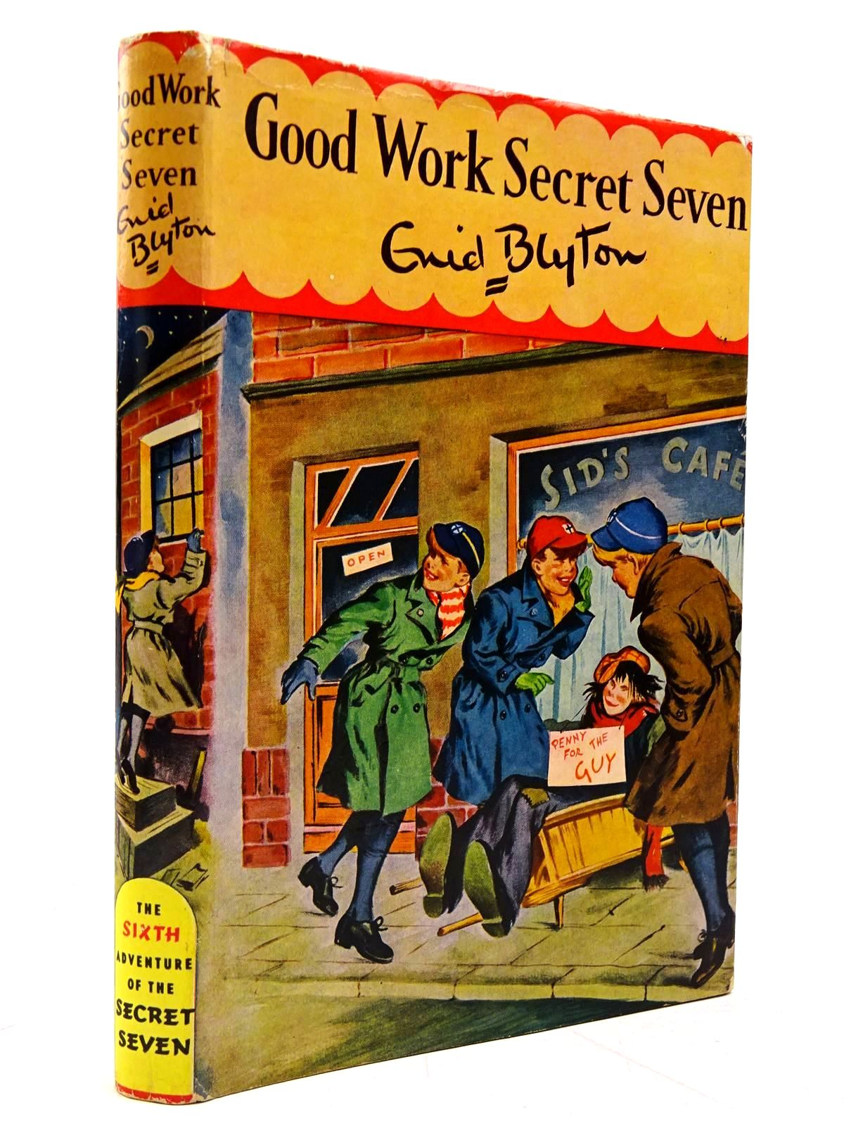 Photo of GOOD WORK SECRET SEVEN written by Blyton, Enid illustrated by Kay, Bruno published by Brockhampton Press (STOCK CODE: 2131132)  for sale by Stella & Rose's Books