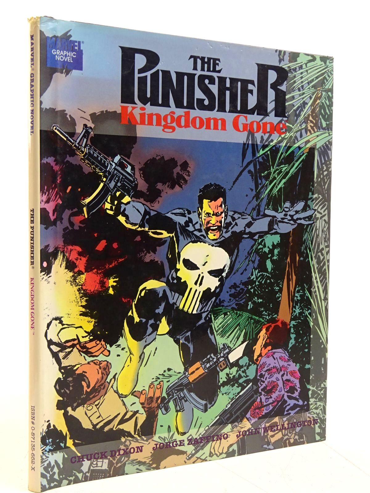 Photo of THE PUNISHER - KINGDOM GONE written by Dixon, Chuck illustrated by Zaffino, Jorge published by Marvel Entertainment Group (STOCK CODE: 2131201)  for sale by Stella & Rose's Books