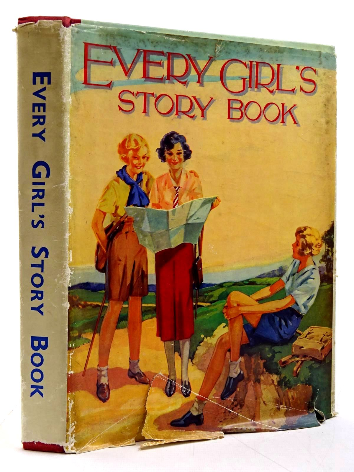 Photo of EVERY GIRL'S STORY BOOK written by Fry, Leonora<br />Stretton, Elinor<br />Morris, W.H.<br />Chapman, Dora<br />Wynne, May<br />et al, illustrated by Goss, G.W.<br />et al., published by The Avenue Press (STOCK CODE: 2131241)  for sale by Stella & Rose's Books