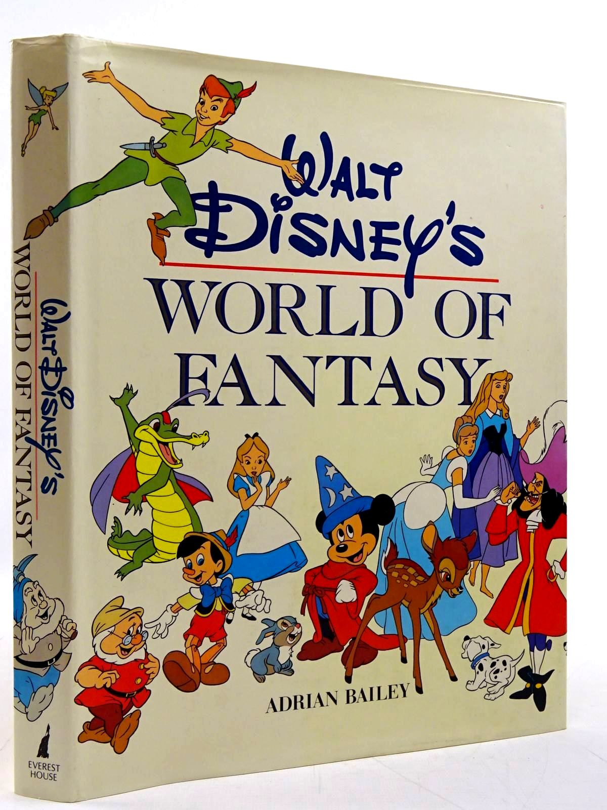 Photo of WALT DISNEY'S WORLD OF FANTASY written by Bailey, Adrian illustrated by Disney, Walt published by Everest House Publishers (STOCK CODE: 2131242)  for sale by Stella & Rose's Books