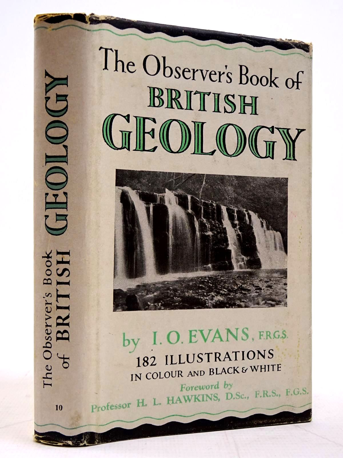Photo of THE OBSERVER'S BOOK OF BRITISH GEOLOGY written by Evans, I.O. published by Frederick Warne & Co Ltd. (STOCK CODE: 2131262)  for sale by Stella & Rose's Books
