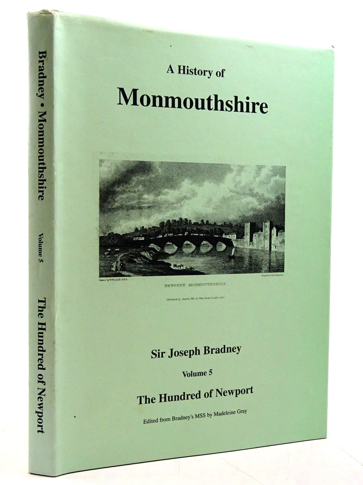 Photo of A HISTORY OF MONMOUTHSHIRE VOLUME 5 THE HUNDRED OF NEWPORT written by Bradney, Joseph published by South Wales Record Society (STOCK CODE: 2131283)  for sale by Stella & Rose's Books