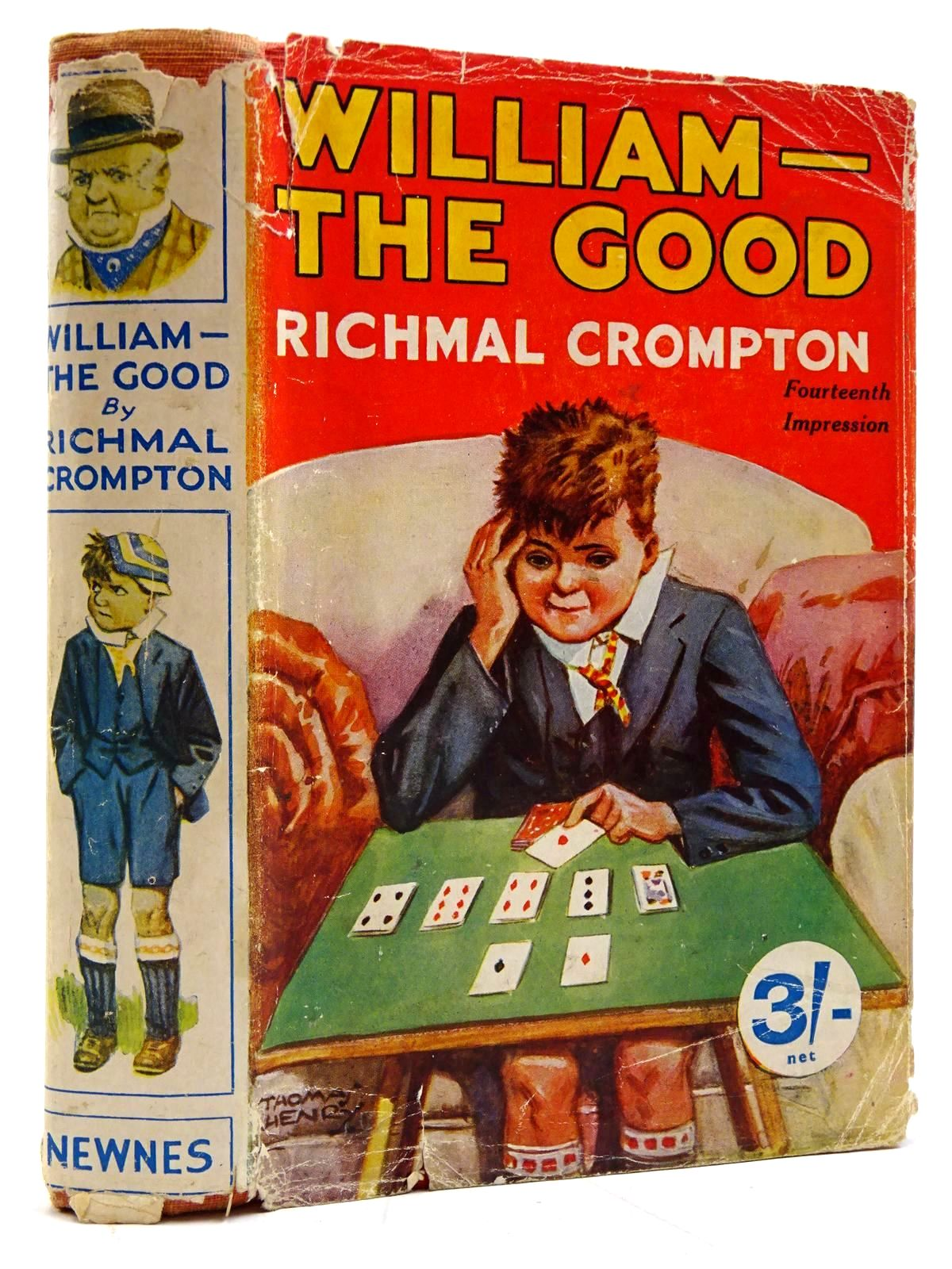 Photo of WILLIAM THE GOOD written by Crompton, Richmal illustrated by Henry, Thomas published by George Newnes Limited (STOCK CODE: 2131334)  for sale by Stella & Rose's Books