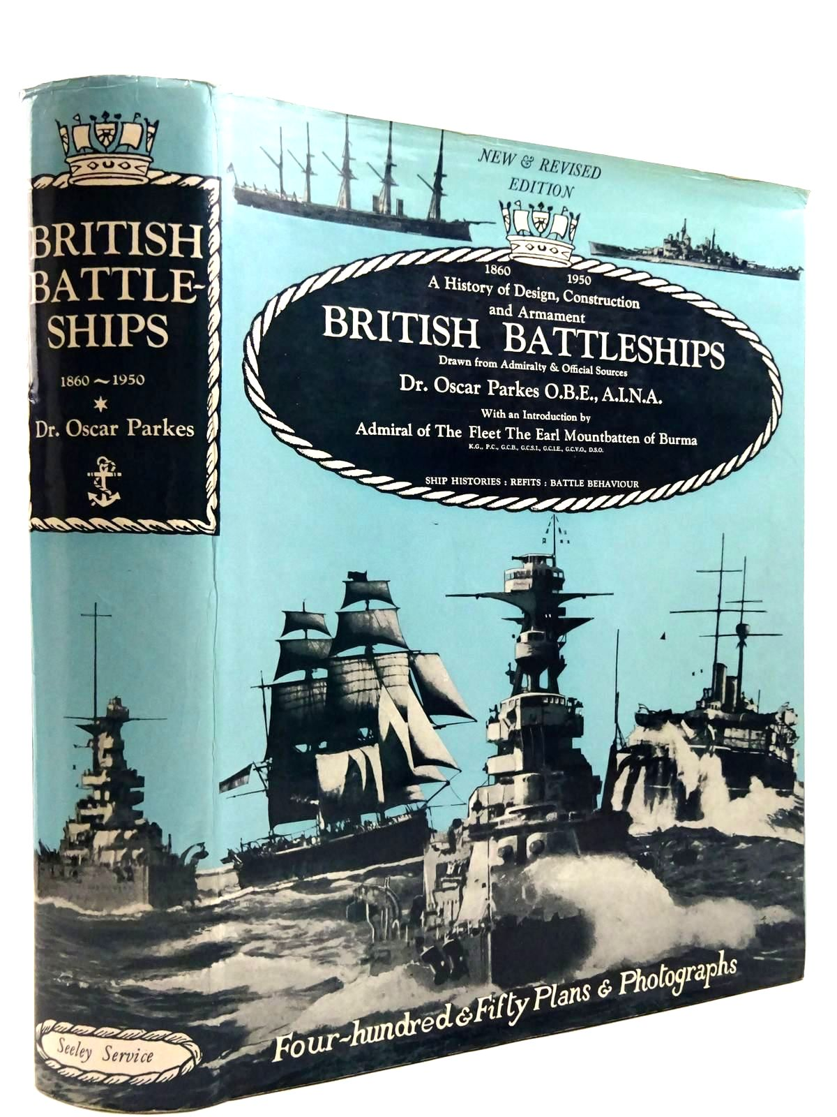 Photo of BRITISH BATTLESHIPS written by Parkes, Oscar published by Seeley, Service & Co. Ltd. (STOCK CODE: 2131392)  for sale by Stella & Rose's Books