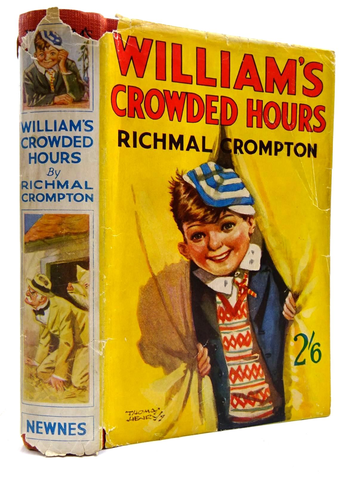 Photo of WILLIAM'S CROWDED HOURS written by Crompton, Richmal illustrated by Henry, Thomas published by George Newnes Limited (STOCK CODE: 2131398)  for sale by Stella & Rose's Books