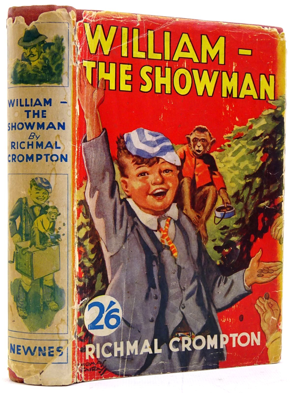 Photo of WILLIAM-THE SHOWMAN written by Crompton, Richmal illustrated by Henry, Thomas published by George Newnes Ltd. (STOCK CODE: 2131419)  for sale by Stella & Rose's Books