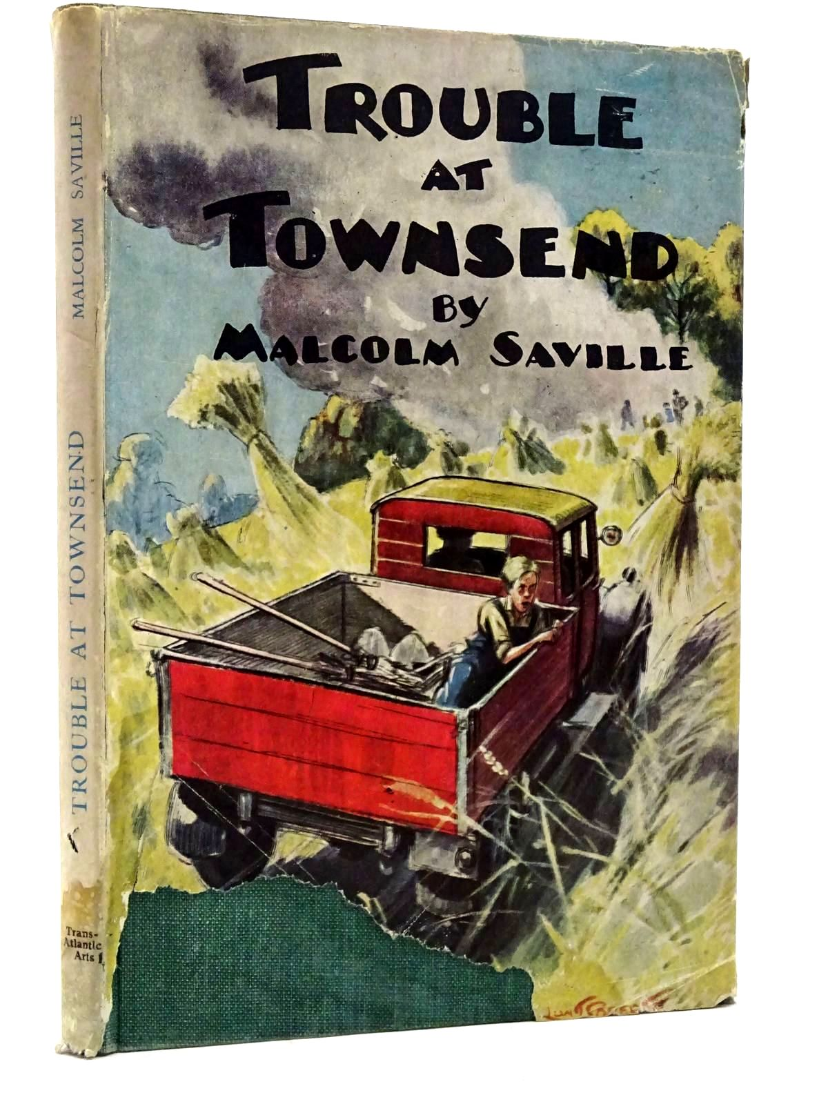 Photo of TROUBLE AT TOWNSEND written by Saville, Malcolm illustrated by Roberts, Lunt published by Transatlantic Arts Ltd. (STOCK CODE: 2131550)  for sale by Stella & Rose's Books