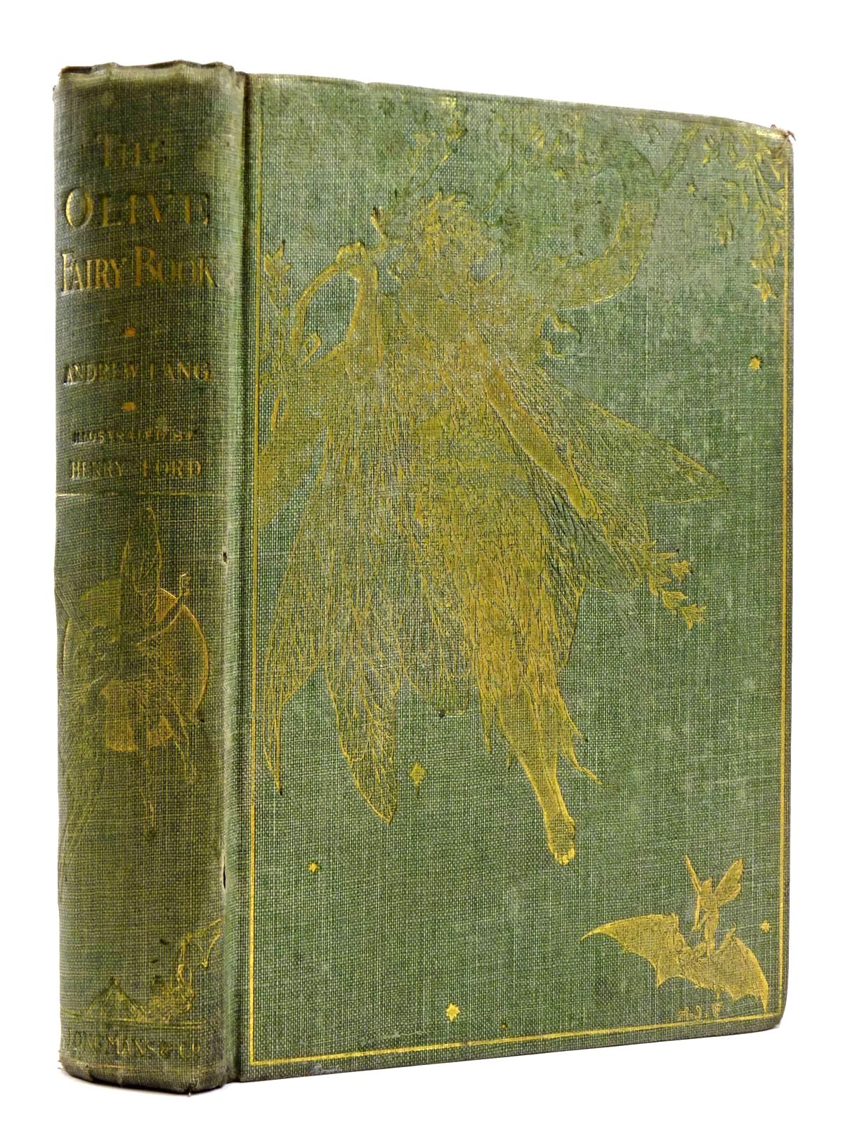 Photo of THE OLIVE FAIRY BOOK written by Lang, Andrew illustrated by Ford, H.J. published by Longmans, Green & Co. (STOCK CODE: 2131551)  for sale by Stella & Rose's Books