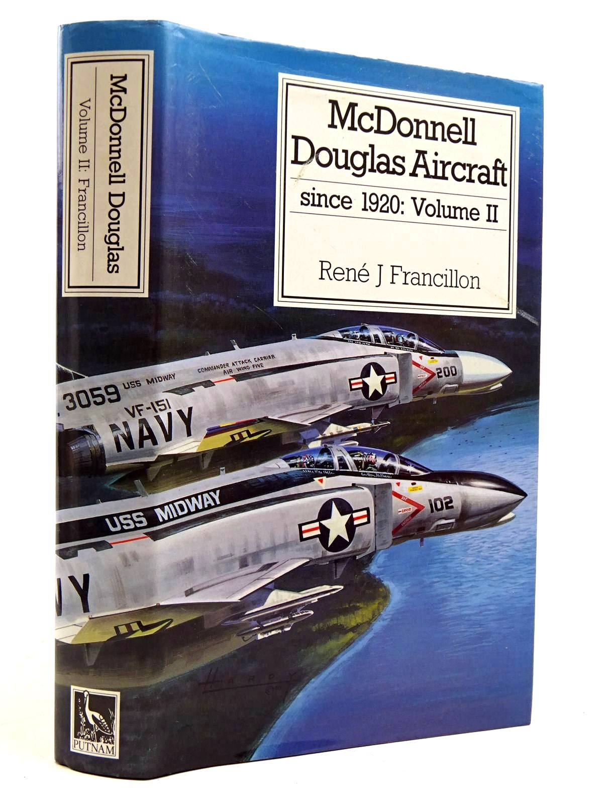 Photo of MCDONNELL DOUGLAS AIRCRAFT SINCE 1920: VOLUME II written by Francillon, Rene J. published by Putnam (STOCK CODE: 2131584)  for sale by Stella & Rose's Books