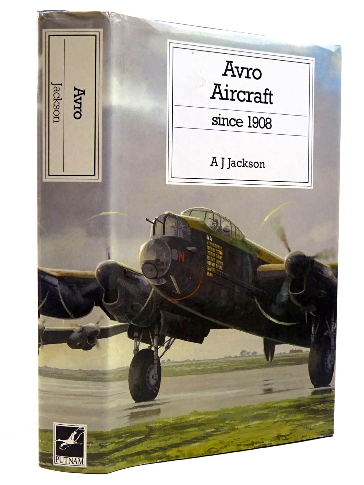 Photo of AVRO AIRCRAFT SINCE 1908 written by Jackson, A.J.<br />Jackson, R.T. published by Putnam (STOCK CODE: 2131592)  for sale by Stella & Rose's Books