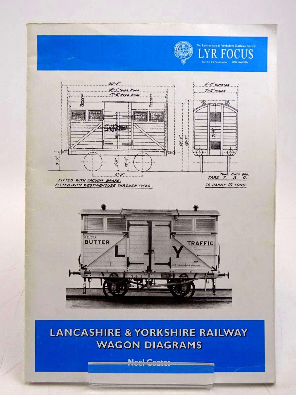Photo of LANCASHIRE & YORKSHIRE RAILWAY WAGON DIAGRAMS written by Coates, Noel published by The Lancashire & Yorkshire Railway Society (STOCK CODE: 2131596)  for sale by Stella & Rose's Books