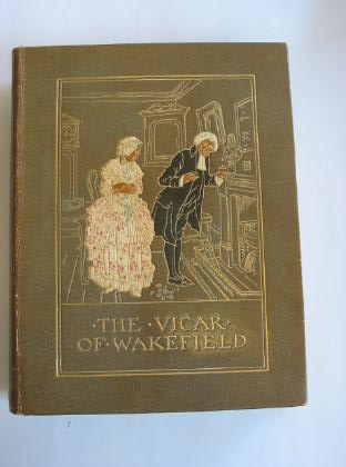 Photo of THE VICAR OF WAKEFIELD written by Goldsmith, Oliver illustrated by Rackham, Arthur published by George G. Harrap & Co. Ltd. (STOCK CODE: 321289)  for sale by Stella & Rose's Books