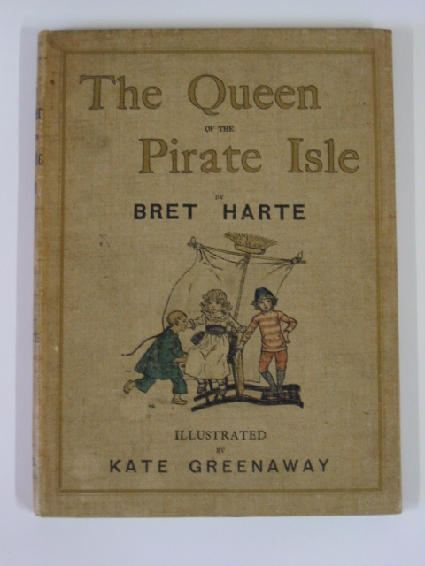Photo of THE QUEEN OF THE PIRATE ISLE written by Harte, Bret illustrated by Greenaway, Kate published by Chatto & Windus (STOCK CODE: 378930)  for sale by Stella & Rose's Books