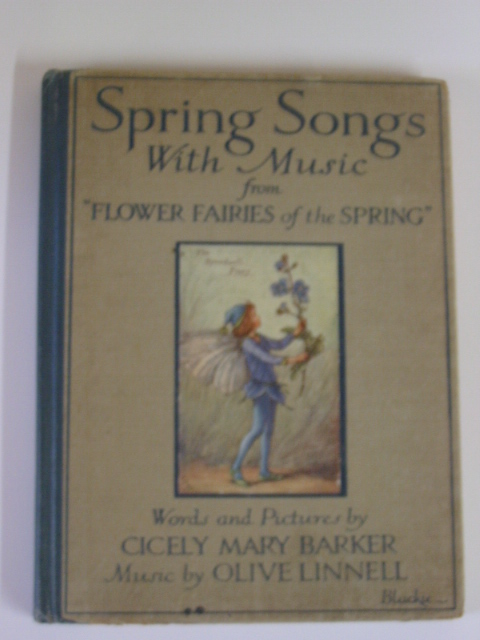 Photo of SPRING SONGS WITH MUSIC written by Barker, Cicely Mary illustrated by Barker, Cicely Mary published by Blackie & Son Ltd. (STOCK CODE: 378942)  for sale by Stella & Rose's Books