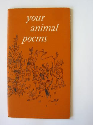 Photo of YOUR ANIMAL POEMS written by Lindsay, Vachel<br />Farjeon, Eleanor<br />Hughes, Ted<br />et al,  illustrated by Blake, Quentin published by Gordon Fraser Gallery (STOCK CODE: 380775)  for sale by Stella & Rose's Books