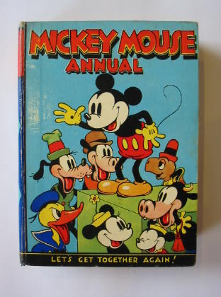Photo of MICKEY MOUSE ANNUAL 1937 FOR 1938 written by Disney, Walt published by Dean & Son Ltd. (STOCK CODE: 381774)  for sale by Stella & Rose's Books
