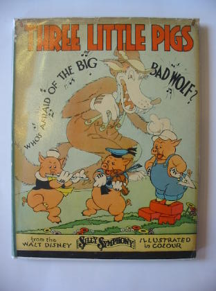 Photo of THREE LITTLE PIGS written by Disney, Walt illustrated by Disney, Walt published by John Lane The Bodley Head (STOCK CODE: 381790)  for sale by Stella & Rose's Books