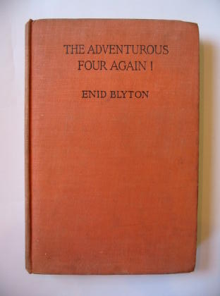 Photo of THE ADVENTUROUS FOUR AGAIN! written by Blyton, Enid illustrated by Land, Jessie published by George Newnes Ltd. (STOCK CODE: 381877)  for sale by Stella & Rose's Books