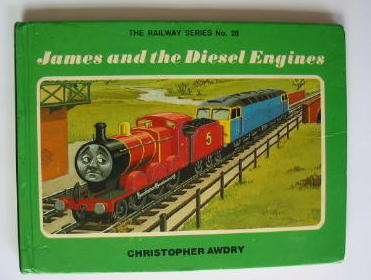 Photo of JAMES AND THE DIESEL ENGINES written by Awdry, Christopher illustrated by Spong, Clive published by Heinemann (STOCK CODE: 382755)  for sale by Stella & Rose's Books