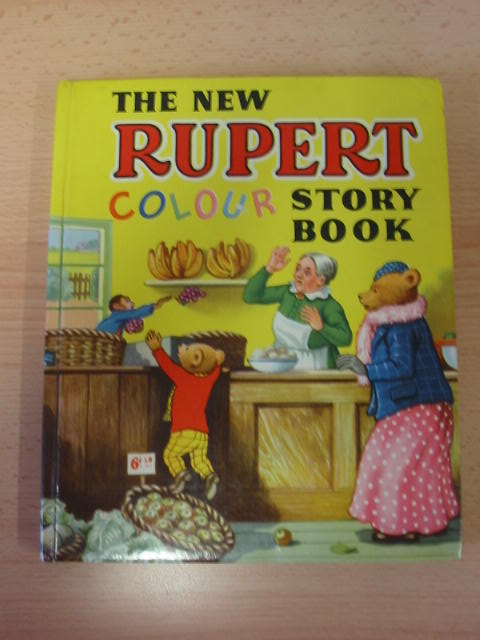 Photo of THE NEW RUPERT COLOUR STORY BOOK written by Bestall, Alfred illustrated by Bestall, Alfred published by Purnell & Sons (STOCK CODE: 383252)  for sale by Stella & Rose's Books