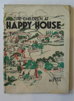 Photo of THE CHILDREN AT HAPPY HOUSE written by Blyton, Enid illustrated by Gell, Kathleen published by Shakespeare Head Press (STOCK CODE: 383695)  for sale by Stella & Rose's Books