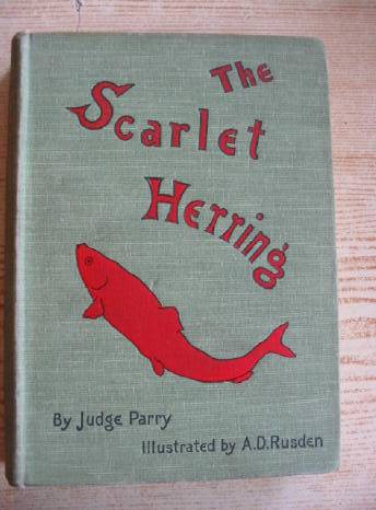Photo of THE SCARLET HERRING written by Parry, Edward Abbott illustrated by Rusden, A. D. published by Smith, Elder & Co. (STOCK CODE: 403270)  for sale by Stella & Rose's Books